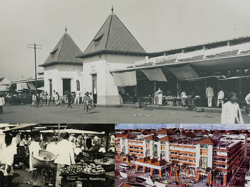 Sejarah Pasar Baru Bandung