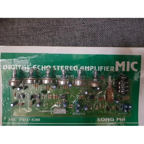 Mạch MIC 6 nút vặn ampli Song Mã 8280