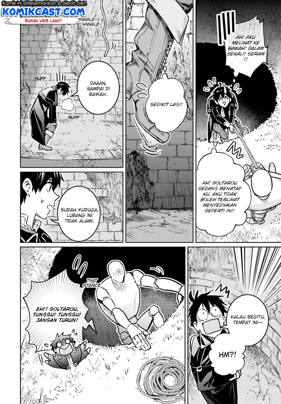 The Sorcerer King of Destruction and the Golem of the Barbarian Queen Chapter 03-41