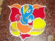 Simple Designs Of Rangoli For Diwali