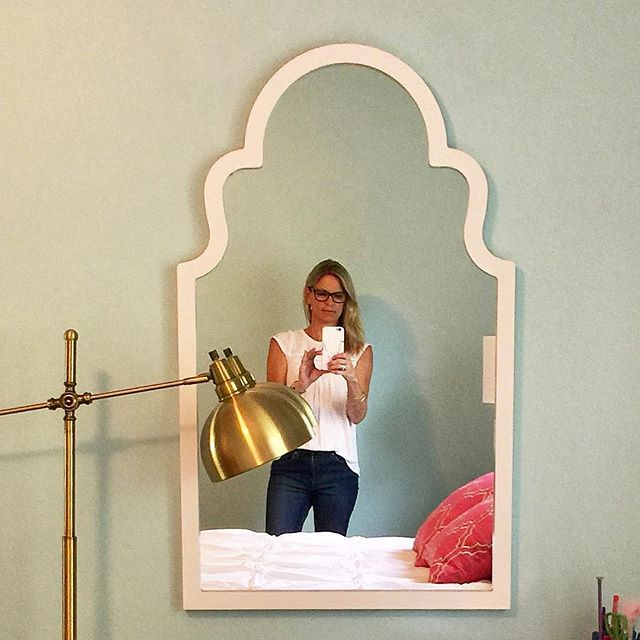 The Collected Interior: A Stylish Girls Bedroom, Custom Upholstery ...
