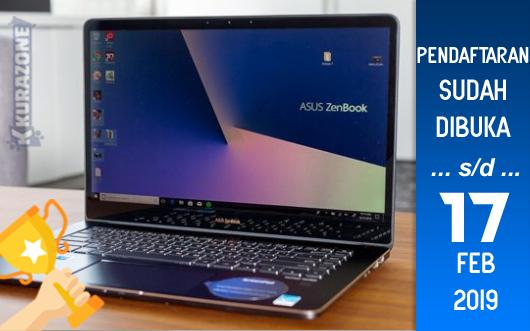 Kompetisi Blog - ASUS ZenBook World's Smallest 13,14,15inch Laptop Berhadiah Laptop ASUS (17 Februari 2019)