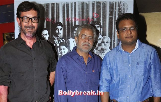Rajat Kapoor and Sanjay Mishra, Ankhon Dekhi Movie Premiere Pics