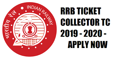 RRB Mumbai 2019 - 2020 TC (Ticket Collector) Recruitment