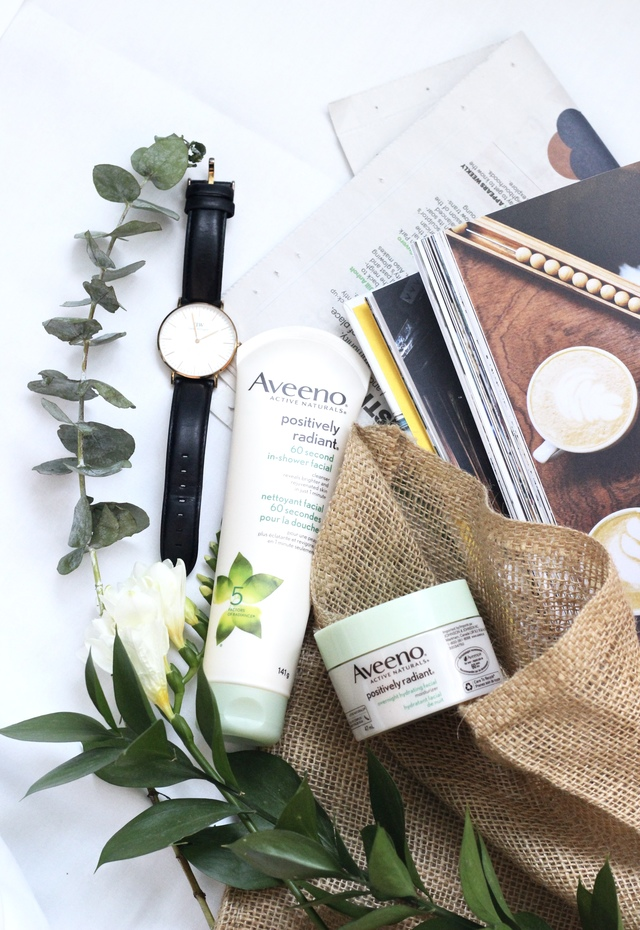 4 ways to speed up your morning routine with AVEENO Positively Radiant