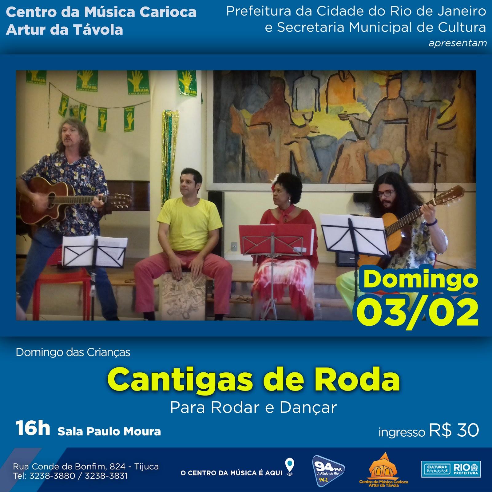 Programa o fevereiro 2019 centro da m sica carioca for Compositore tedesco della musica da tavola