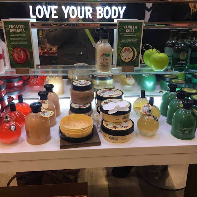 The Body Shop Christmas Range