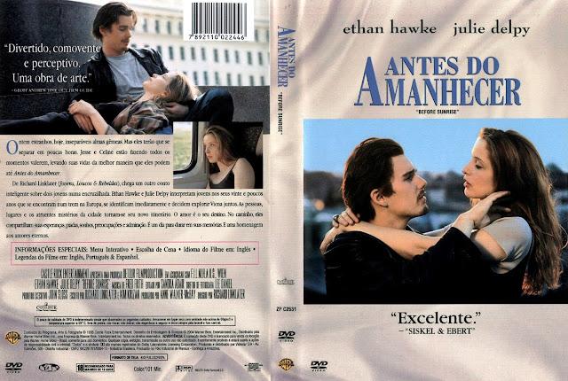 Capa DVD Antes do Amanhecer
