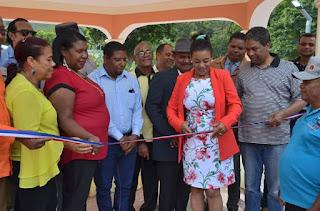 Polo: Alcaldesa Danilsa Cuevas inaugura varias obras