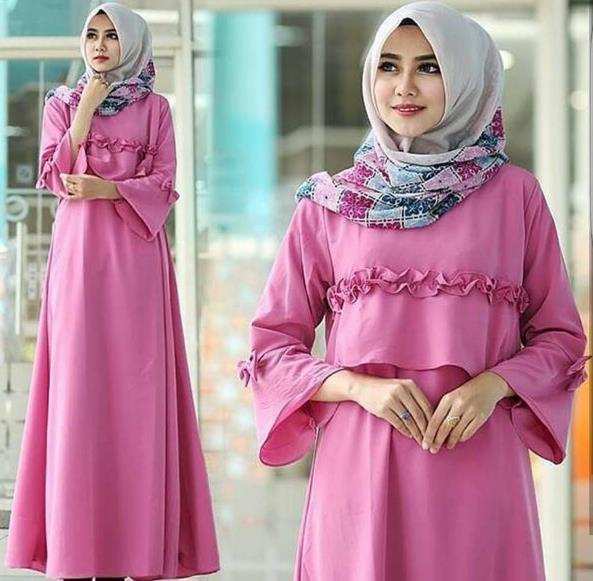 Umumnya disini dalam mencipatakan gaya yang semi modern kebanyakan wanita  memilih gaya dan model baju muslim ... f898f0641b