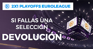 Paston Promoción Playoff Euroleague combinada 2x1 17-20 abril