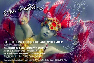 Bali Reef & Fashion Underwater Photo & Workshop