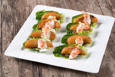 Chillis Flavoured US Potato Wedges in Lettuce Cups, kebaikan ubi kentang, hidangan berasaskan ubi kentang,