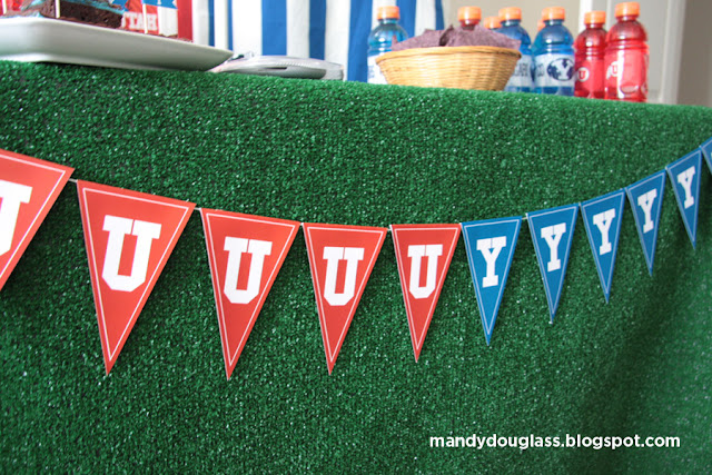 It Will Change Your Life: BYU Vs Utah Rivalry Party : DECOR