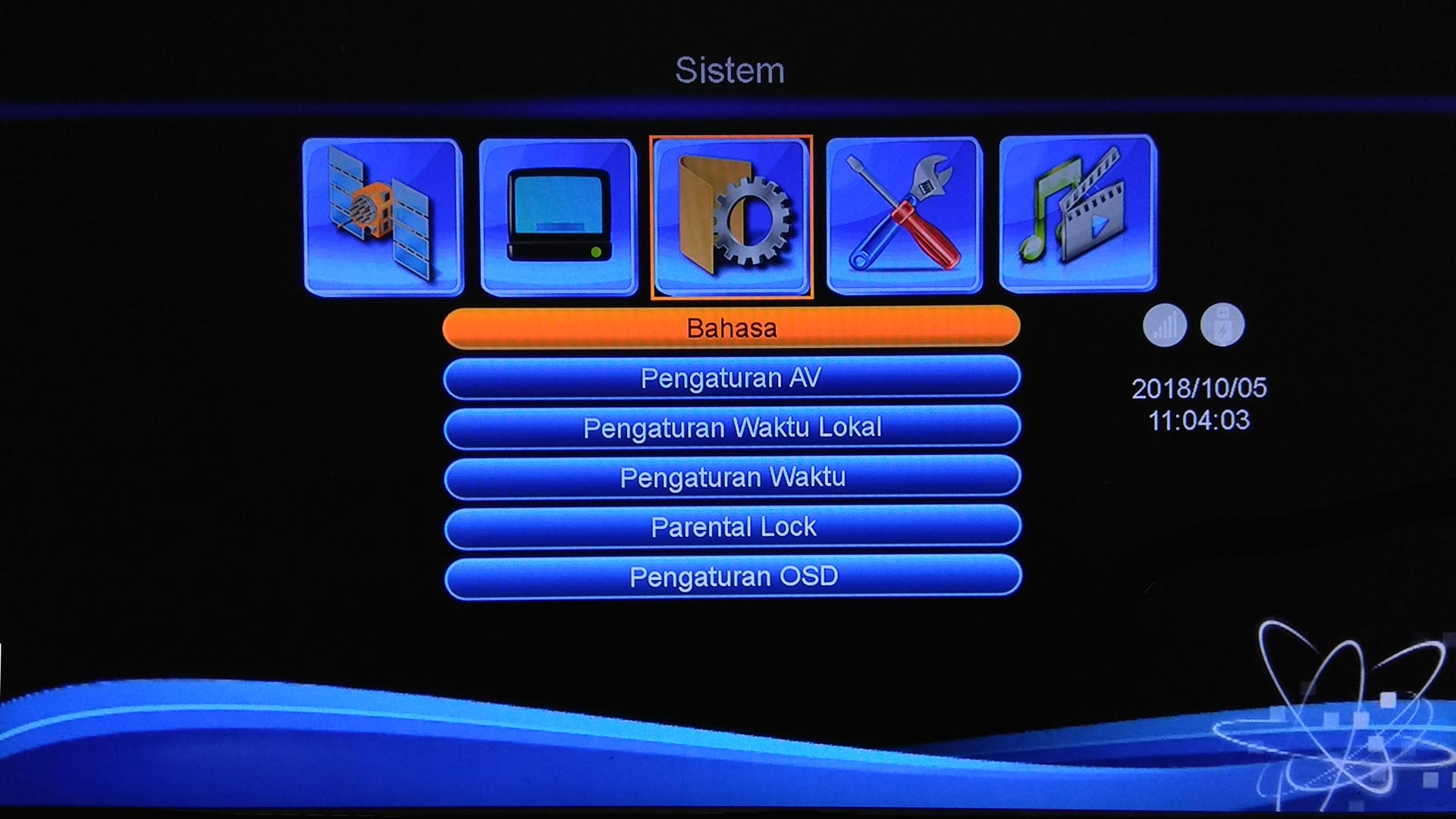 Software DigiStar Update Firmware Receiver Montage CS8001
