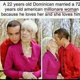 Dominican man american woman