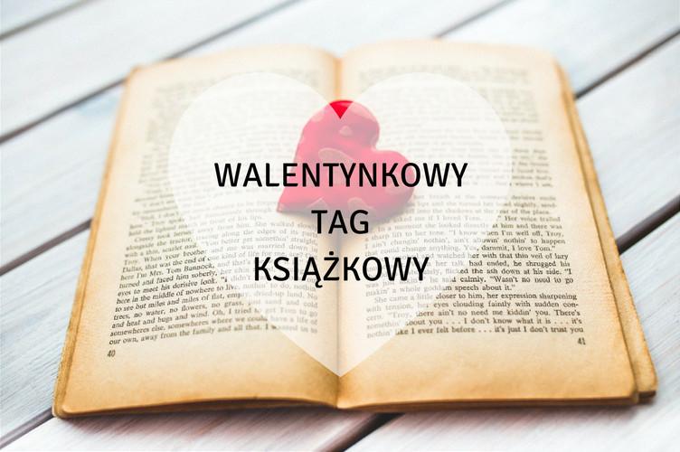 walentynkowy tag książkowy