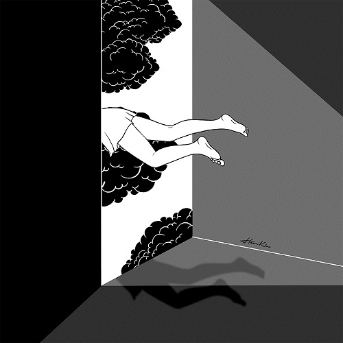 """The edge of the world"" by Henn Kim 