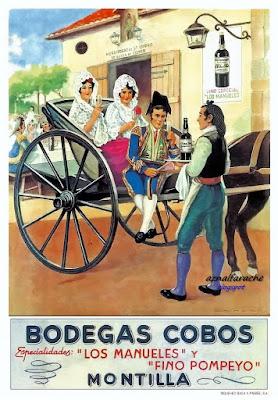 BODEGAS COBOS - MONTILLA - Hacia 1940
