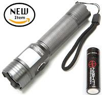 Night Provsion™ GMETAL-5 Innovative Dual Function Flash Light Lantern Image