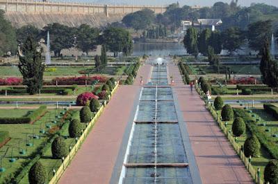 best tourist spots in mysore Brindavan Gardens
