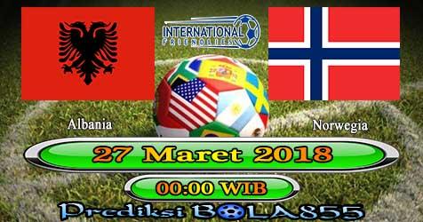 Prediksi Bola855 Albania vs Norwegia 27 Maret 2018