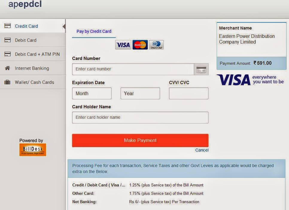 how to pay rogers bill online with debit