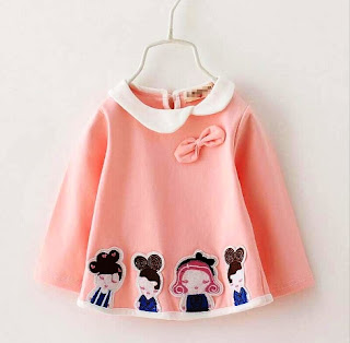 Model Baju Bayi Perempuan Lucu ala China
