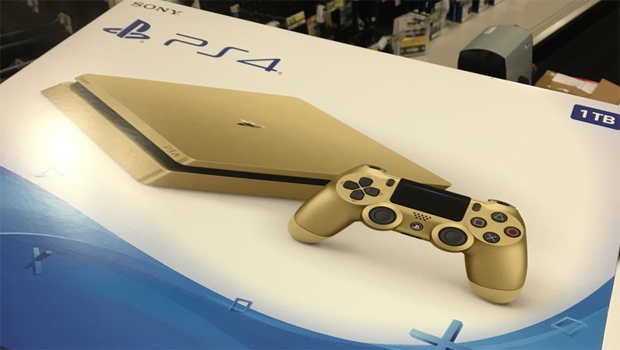 Gold PlayStation 4 is genuine and will be on special for 9 days
