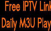 Free IPTV M3U Playlist 25 October 2017 NEW