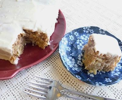 Pineapple Parsnip Cake