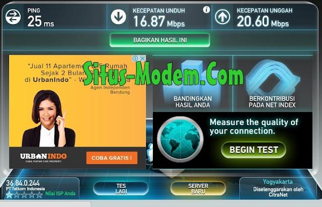 Wow Kecepatan Download WIFI Gratis di Alun-Alun Purworejo Capai 16.87 Mbps, Kamu internetan di situ dijamin betah deh !!!