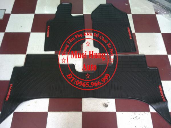 Thảm Lót Sàn Ô Tô 3D Ford Ranger 01