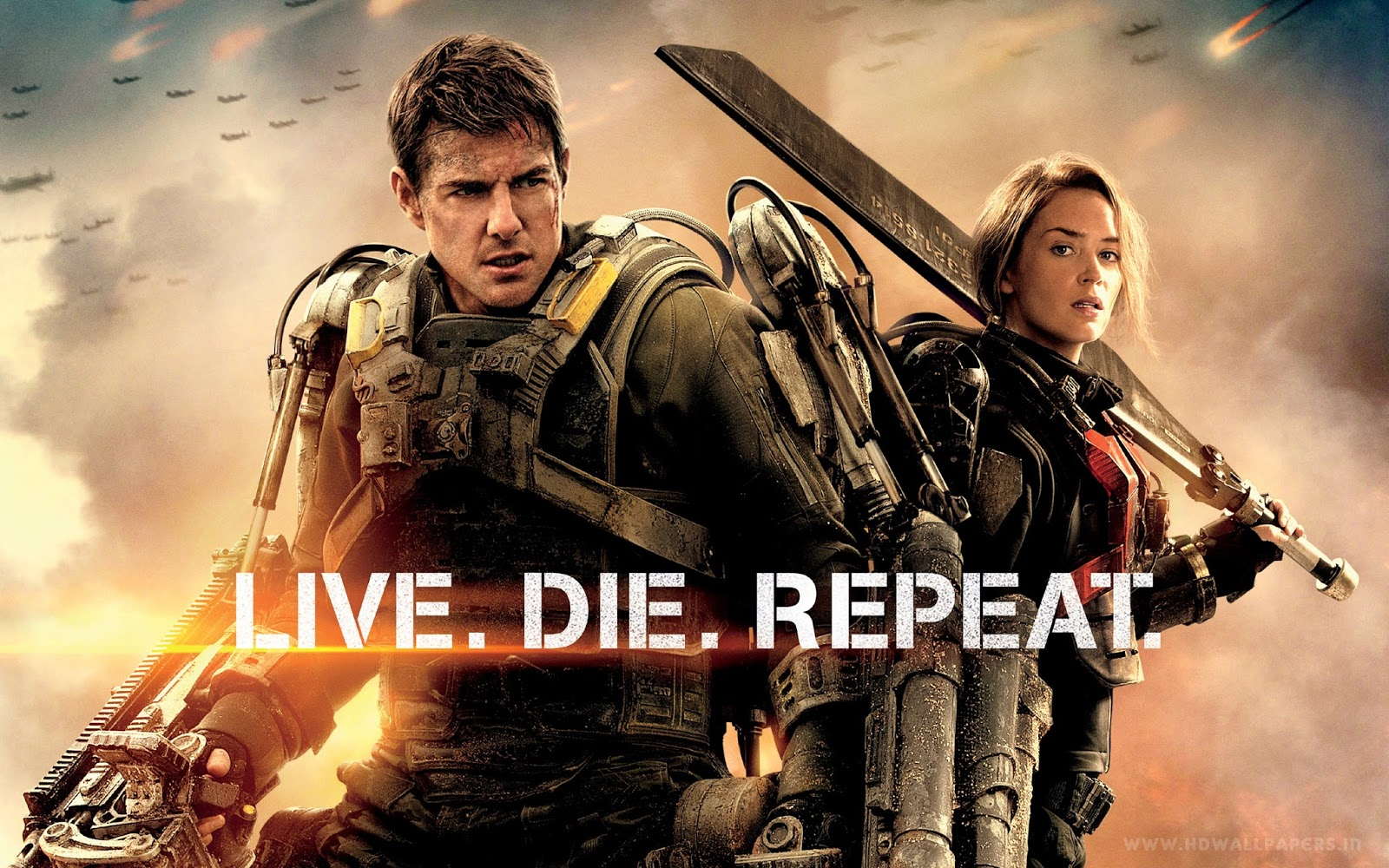 Download Edge of Tomorrow (2014) BluRay 720p Subtitle Indonesia