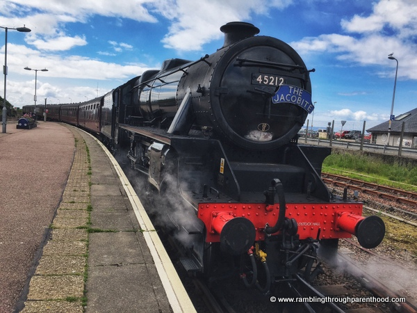 Fort William to Mallaig on The Jacobite aka Harry Potter Train