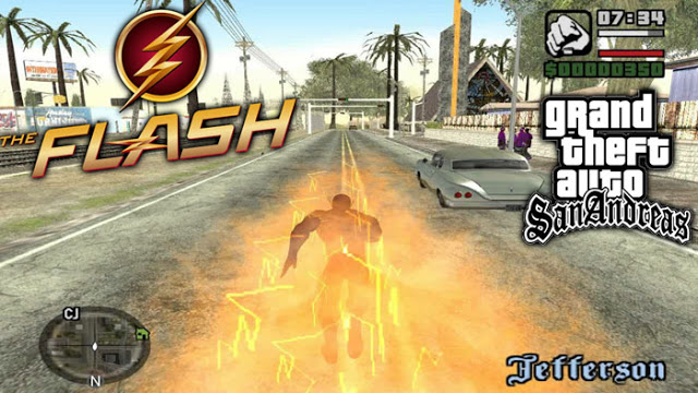 Flash Mod For GTA San Andreas PC Free Download
