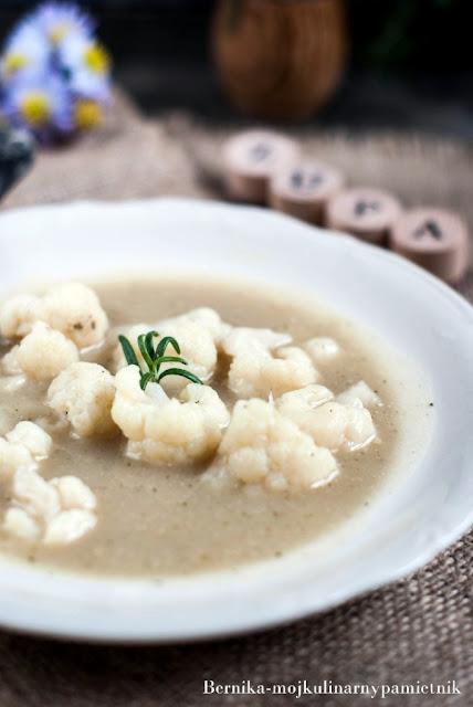 krem, warzywa, poltino, mrozonka, zupa, bernika, kulinarny pamietnik