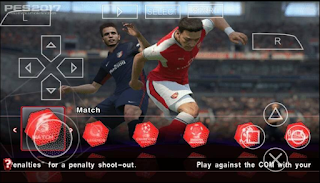 PES Army 2018 PPSSPP PSP ISO + Save Data Terbaru Gratis