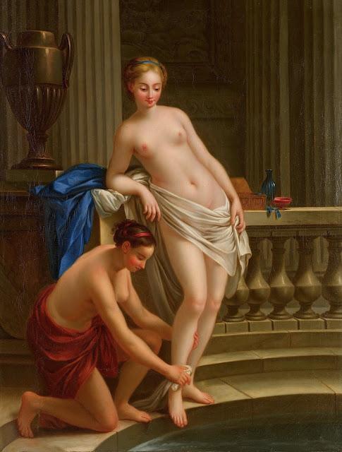 Joseph-Marie Vien: Donne al bagno