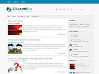 2 Blogger Template Responsive