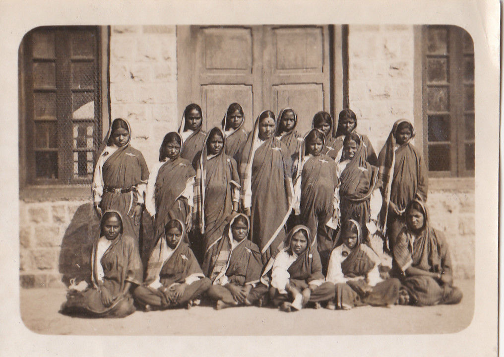 Group of School Girls - India c1930's