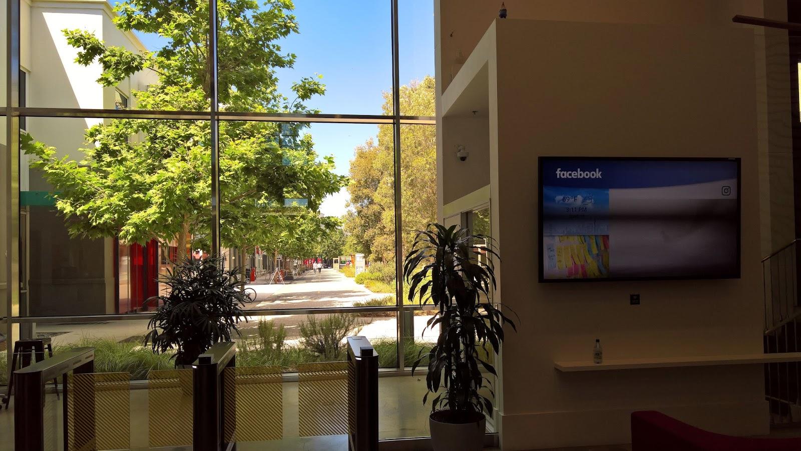 silicon valley piilaakso facebook konttori mallaspulla matkailu