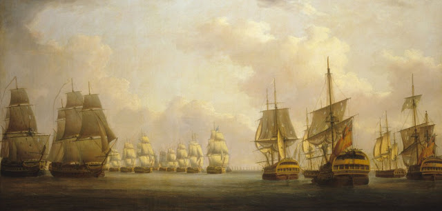 Batalla naval y Napoleon Bonaparte