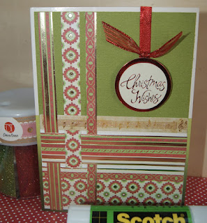 up cycled christmas cards