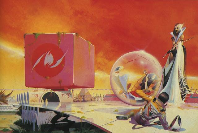 Portada y contraportada de A World out of Time, de Larry Niven