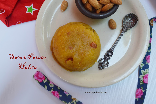 Sweet Potato Halwa Recipe | Sakkaraivalli kizhangu Halwa