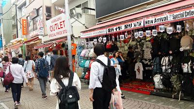 Calle Takeshita. Harajuku. Japón.