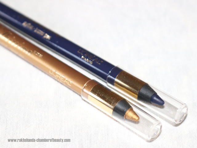 L'Oreal Paris Infallible Silkissime Eyeliners Review Swatches & Price in India
