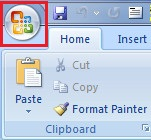Cara membuat Password pada file Word 2007