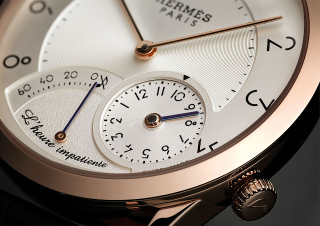 Hermes Slim d'Hermès L'heure impatiente Mechanical Automatic Watch